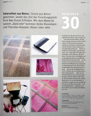 Bauwelt 24/14 DysCrete