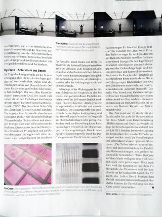 Deutsches Architektenblatt DysCrete TouchCrete 02
