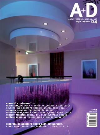 A+D Magazine Bratislava BlingCrete